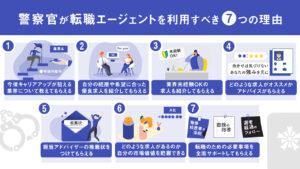 警察官が転職エージェントを利用すべき7つの理由